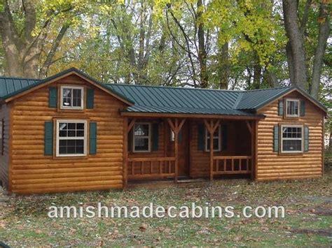 Portable Log Cabins by Amish Made Portable Log Cabin Ebay