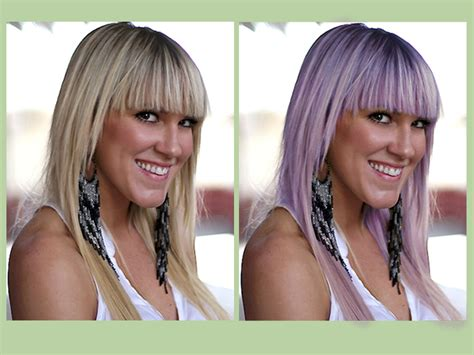 change hair color in photoshop how to change hair color in photoshop using selective color