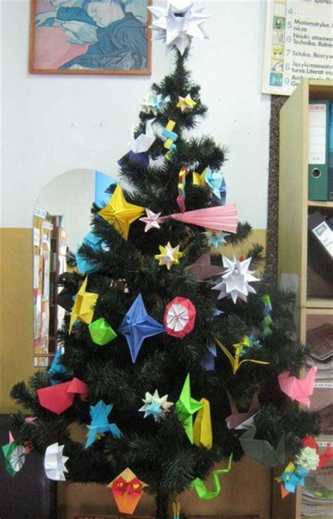 decorar el 225 rbol de navidad con origami decoraci 243 n de