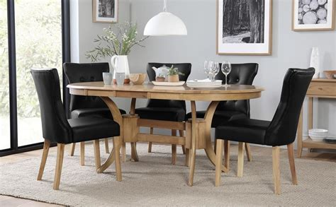 Clifton Richmond Oval Dining Set Townhouse Oval Extending Dining Table With 6 Chairs Set