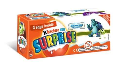 kinder partnership kinder announces monsters on pack