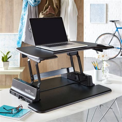 best standing desk for laptop varidesk soho review start standing