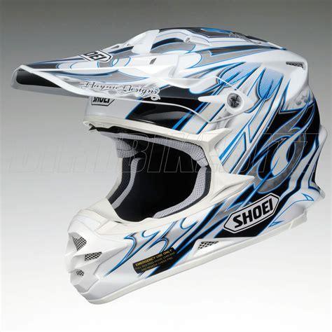shoei helmets motocross 2013 shoei vfxw motocross helmet k dub 3 tc2 blue