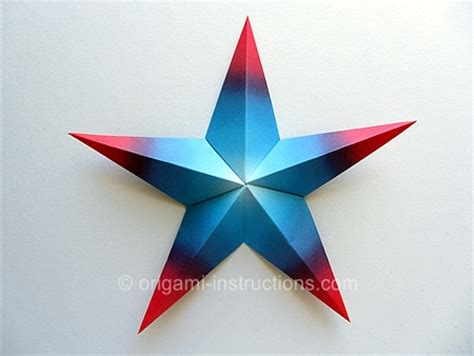 5 Pointed Origami - you can make all kinds of origami on this website it