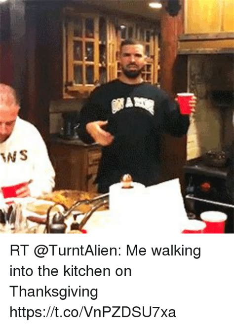 Into The Kitchen by Rt Me Walking Into The Kitchen On Thanksgiving