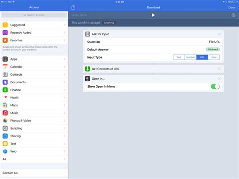 ios workflow how to use workflow for ios when you don t where to