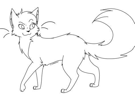 cat lineart by evertenn on deviantart