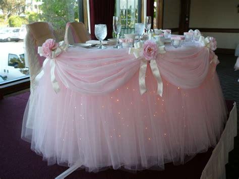 best 25 table skirts ideas on tulle table