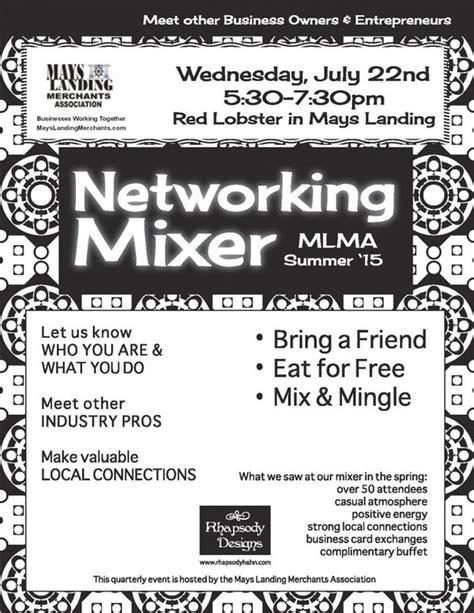 network mixer mays landing merchants association