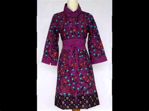 Dress Batik V Dress Batik Kantor Dress Batik Kondangan baju sackdress batik model baju kantor
