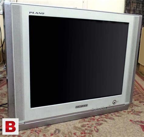Tv Samsung Tabung 21 Inch samsung plano tv 21 quot flatron crt karachi