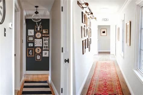 narrow hallway decorating ideas  post rounds