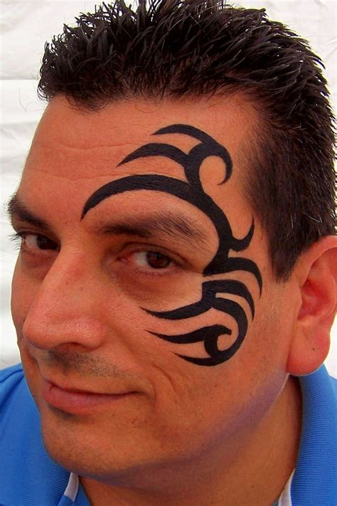 tattoo designs for face 36 best paint s tribal ideas images on