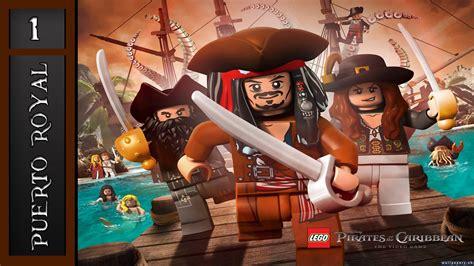 tutorial lego piratas do caribe lego piratas del caribe puerto royal nivel 1 youtube