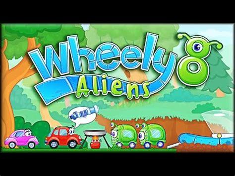 wheely 8 aliens game walkthrough full youtube
