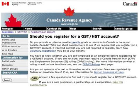 Gst Hst Credit Application Form When To Charge Gst Hst