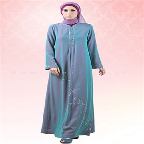 Lihat Model Baju Gamis model baju gamis terbaru yang elegan dan simpel