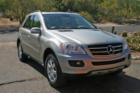 buy car manuals 2007 mercedes benz m class electronic toll collection buy used 2007 mercedes benz ml in anchor point alaska united states for us 7 575 00