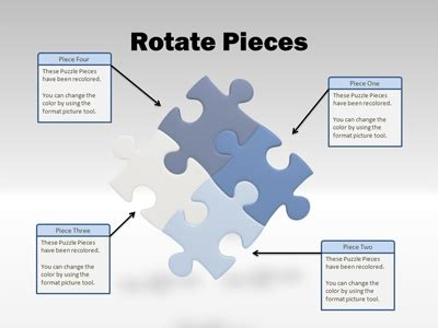 powerpoint puzzle pieces template free powerpoint template puzzle tool kit