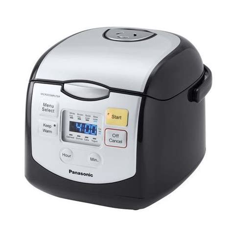 Rice Cooker Panasonic panasonic rice cooker srzc075k 4 cup microcomputer controlled rice cookers best buy canada