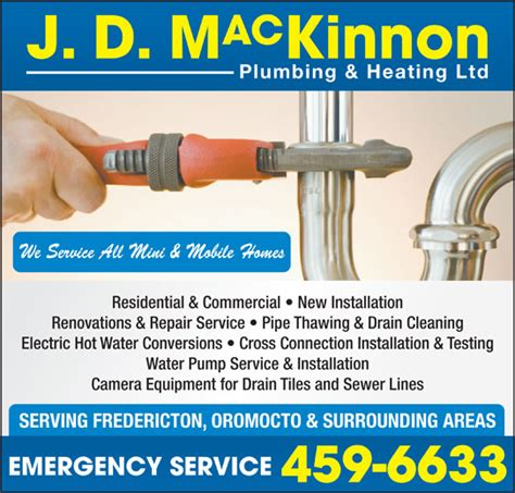 All Pipe Plumbing Services by J D Mackinnon Plumbing Heating Ltd 253 Crocket St