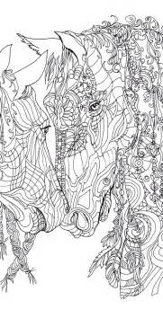 coloring pages for adults horses coloring pages printable coloring book clip