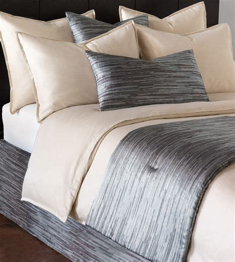 how to make a bed scarf niche luxury bedding by eastern accents horta pewter bed