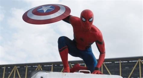 film baru captain america heboh spiderman muncul di film captain america civil war