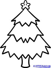 weihnachtsbaum zeichnung how to draw a tree for step by step