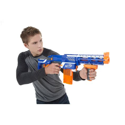 Nerf N Strike Elite Retaliator Ready Stock nerf n strike elite retaliator blaster colors may vary toys