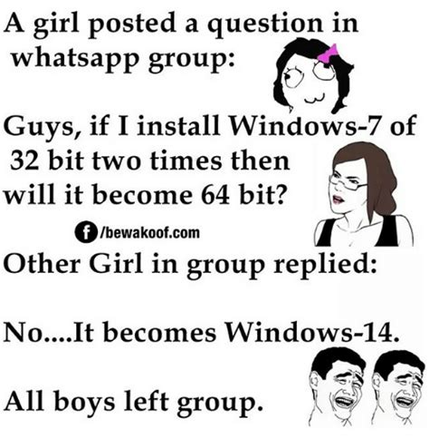 whatsapp question wallpaper a girl posted a question in whatsapp group guys if i