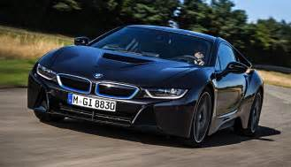 bmw i8 hybrid sports car with laser lights delivered to