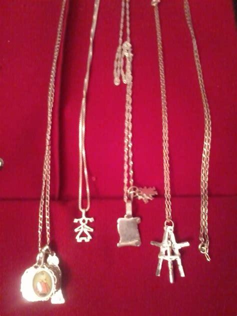 joyas cadenas de plata joyas fina plata cadenas y colgantes 39 999 en mercado