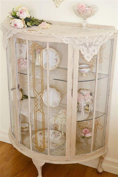 shabby chic china cabinet jennelise antique china cabinet shabby chic