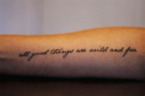 tattoo on arm quote quotes tattoo tech2gadget