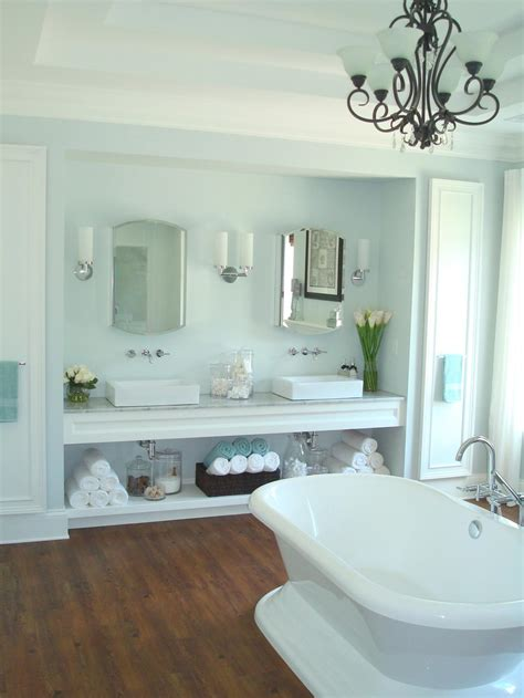 bathroom vanity shelving ideas photos hgtv