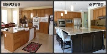 Upgrading Kitchen Cabinets kitchen update with island makeover