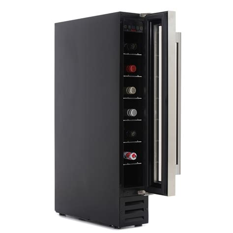 baumatic 7 bottle wine cooler buy baumatic bwc155ss wine cooler black with stainless