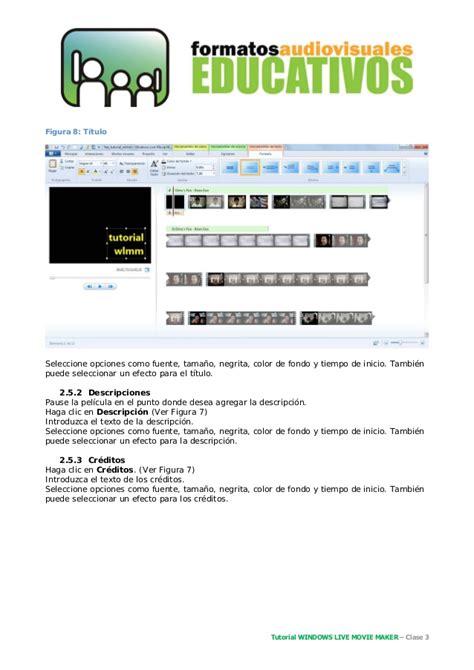tutorial movie maker para windows 7 tutorial windows live movie maker wlmm