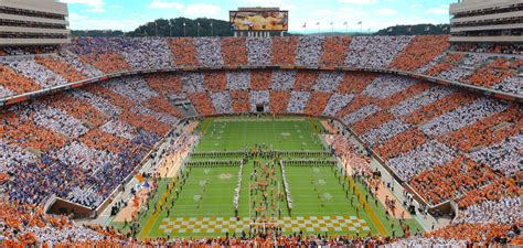 neyland stadium student section university of tennessee official athletic site facilities