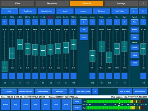 house music mastering imusicalbum audio mastering app for ipad updated to v1 4