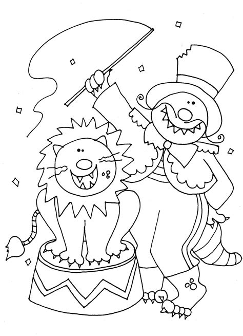 free coloring pages of us circus train