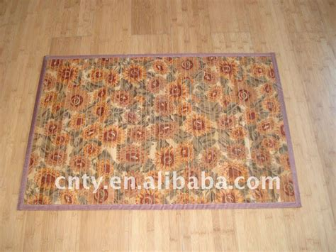 printed bamboo rug for floor buy bamboo pattern rug