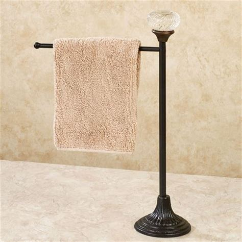 door knob countertop towel holder
