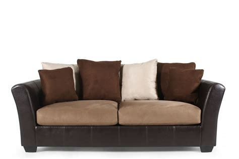 Mathis Bros Furniture by Mocha Sofa Masoli Mathis Brothers