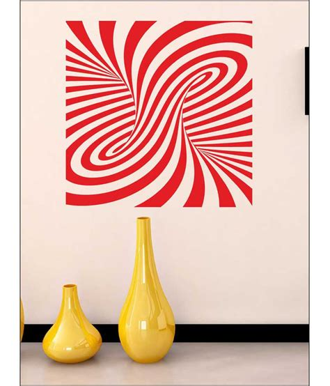 wall1ders magical ripples red stickers super buy