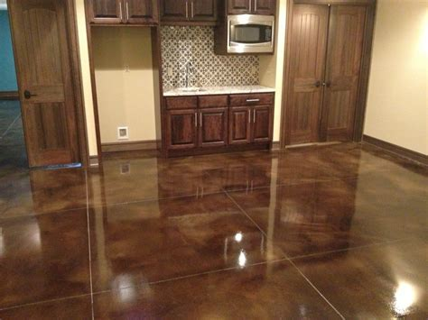 Stained Concrete Floors ? Polished Decorative Concrete For