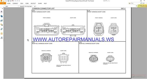 mazda bt 50 manual wiring diagrams wiring diagram schemes