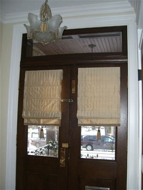 Glass Front Door Window Coverings Window Treatments Front Door Home Ideas