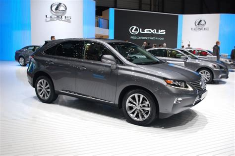 2013 lexus rx 450h review review hybrid cars 2013 toyota rx 450h hybrid and gs 450h hybrid prices announced